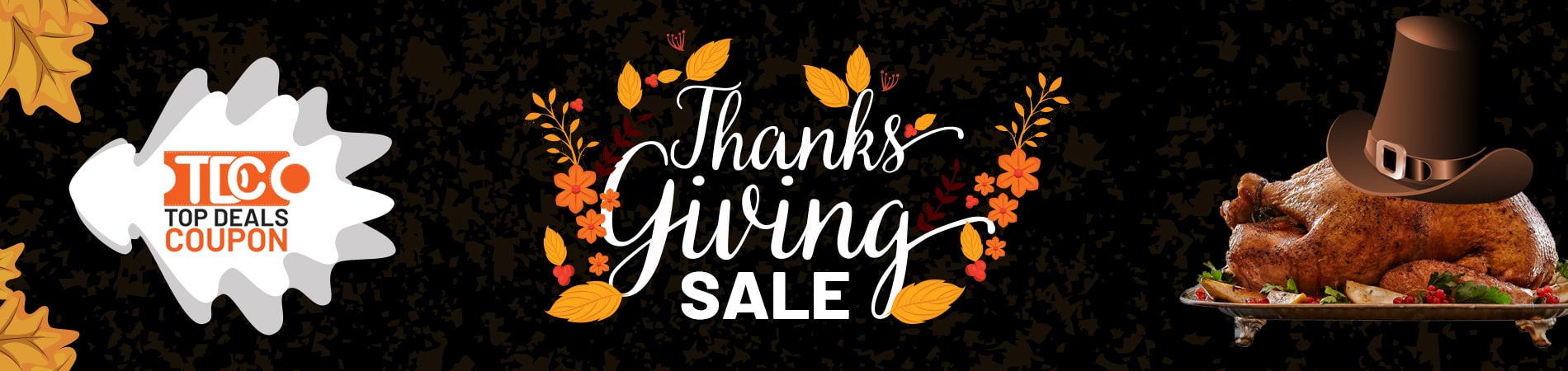 Thanks Giving Sale Banner