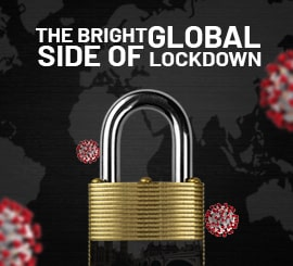The bright side of Global Lockdown Blog Block Image topdealscopon
