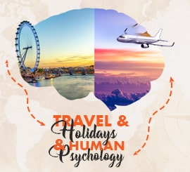 Travel and Holidays and Human Psychology Blog Block Image Topdealscoupon